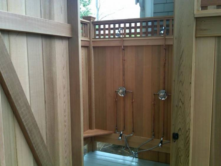 wall mounted outdoor shower kit interior architecture mesmerizing outdoor  shower kits on kit enclosures cedar wall