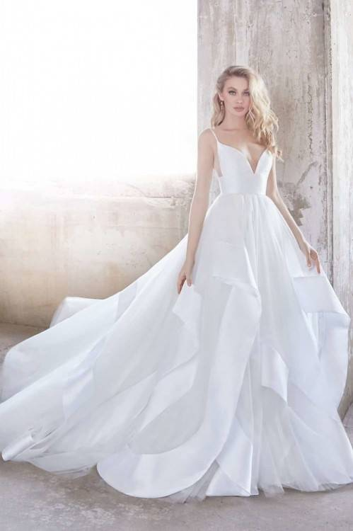 newest wedding dresses by Hayley Paige for Spring 2018! Andi by Hayley  Paige