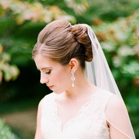 Wedding Hairstyles Veil Best Of 2018 Crystal Design Wedding Veils with  Lace Applqiue Chapel Length