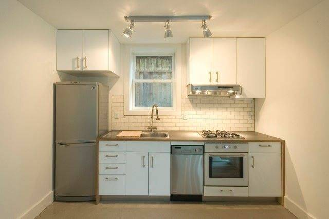 From colorful backsplashes to innovative cabinet designs, these creative  tiny house kitchen ideas will inspire your own downsizing project