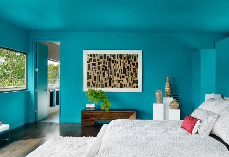 Dark Teal Bedroom Ideas With Best Walls Accessories