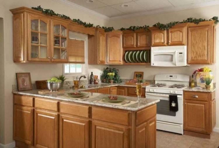 floor that match oak cabinets   kitchen oak cabinets for kitchen renovation    Kitchen Design Ideas at