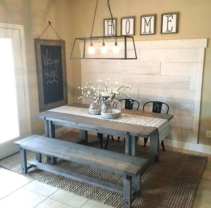 20 Industrial Home Decor Ideas Farmhouse Dining Room Table