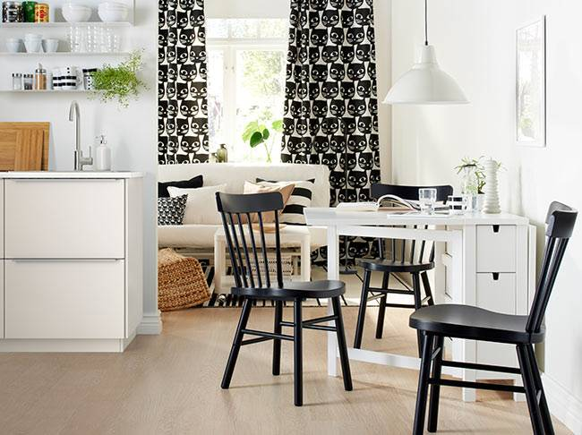 Our small dining room ideas will make your space look larger,