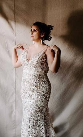 1972 – Satin gown