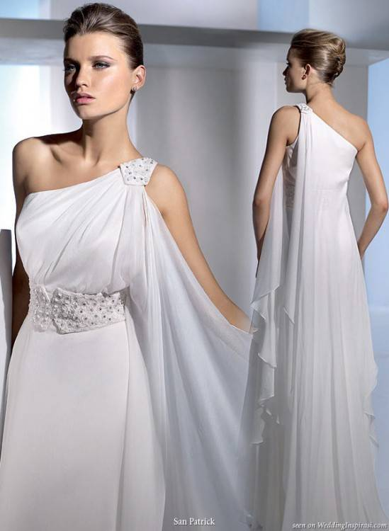 com: Grecian Style Long Evening, Formal, Prom and Graduation Dress  2107: Clothing