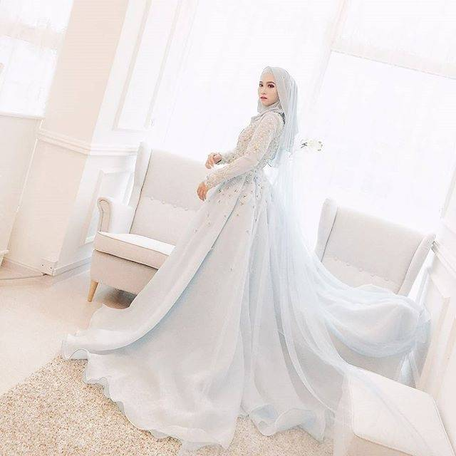 Hijab Style Turkish Islamic Wedding Dress 2016 Women Robe De Mariage  Champagne Ball Gown Muslim Bridal Dresses Arabia Kaftan Ball Gowns For Sale  Ball Gowns