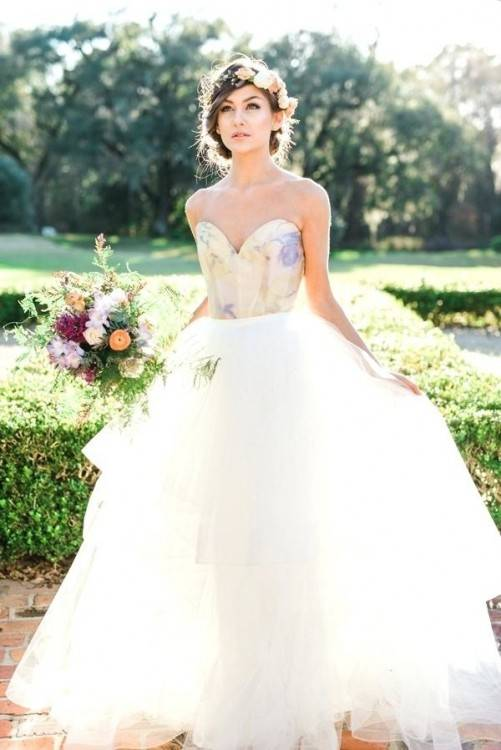 Courtesy of Justin Alexander wedding dresses #weddingdress | Outdoor  Weddings are magical