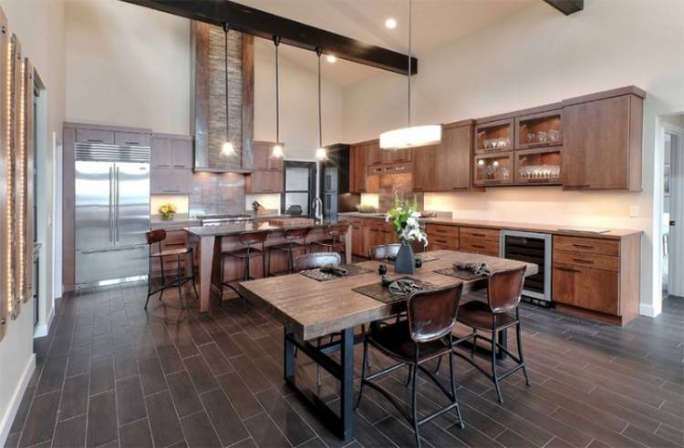 cabin kitchen decorating