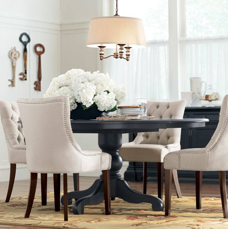 Farmhouse Dining Room Ideas Adorable Small Farmhouse Dining Room Ideas With Round Table White Wooden Chairs And Beautiful Rug Farmhouse Dining Room Rug