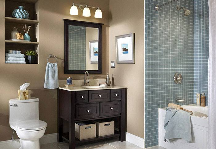 images of small bathroom