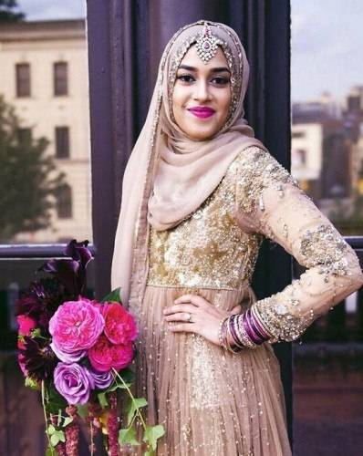 Hence, this collection  will focus mainly on Bridal Hijab Styles 2015