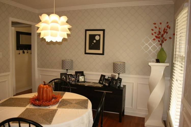 cosy dining room painting ideas my fall home tour living room wall decor dining room painting
