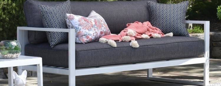 4 Piece Outdoor Modular Lounge Setting