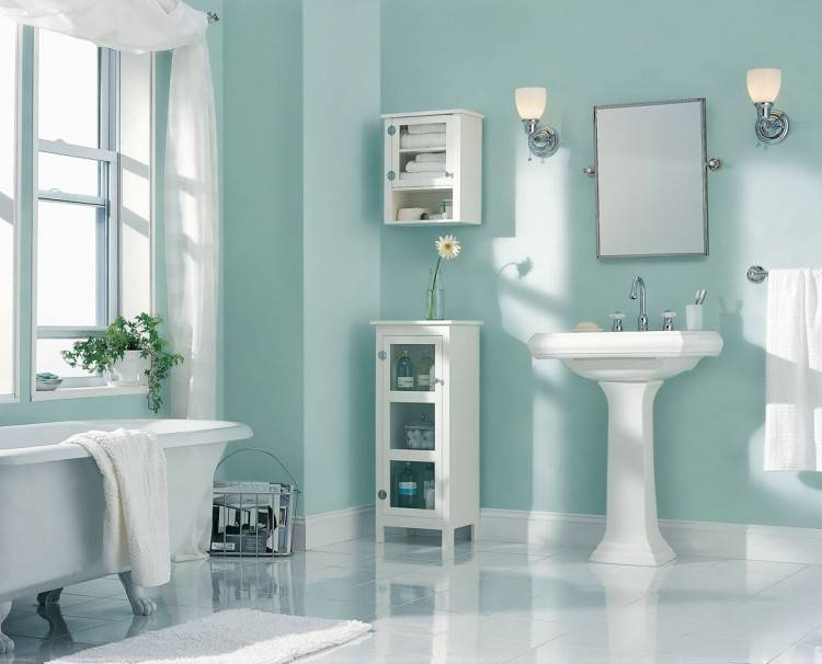 teal bathroom wall decor