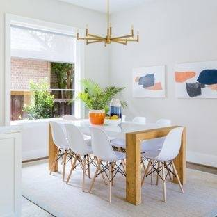 Transitional Dining Area
