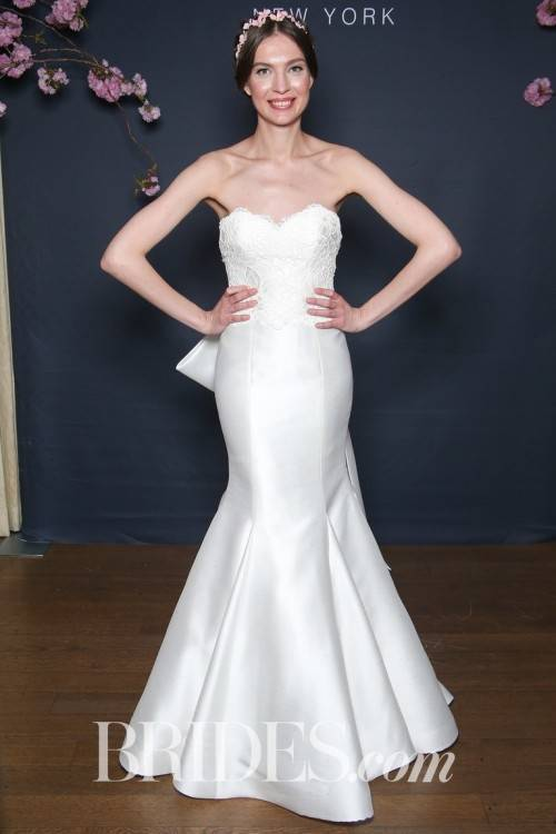 Wedding dress by Amsale