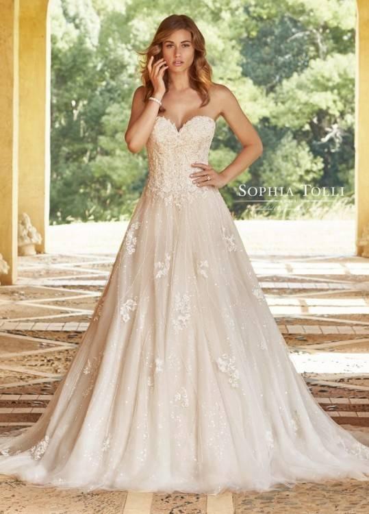 Modest Designer Wedding Dresses 2018 Rhinestone Appliques V Neck Long  Sleeves Bride Gowns For Dubai Saudi Arabia Vestido De Novia BA6671 Best Wedding  Gowns