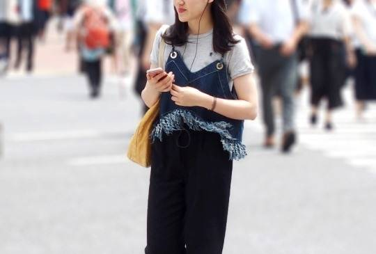 This trend means generally oversized clothes for men, and balloon skirts  and draped tops for women