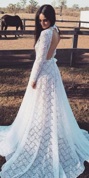 Rustic Style Long Chiffon Beach Wedding Dresses With Pearl Beading Cap Sleeves