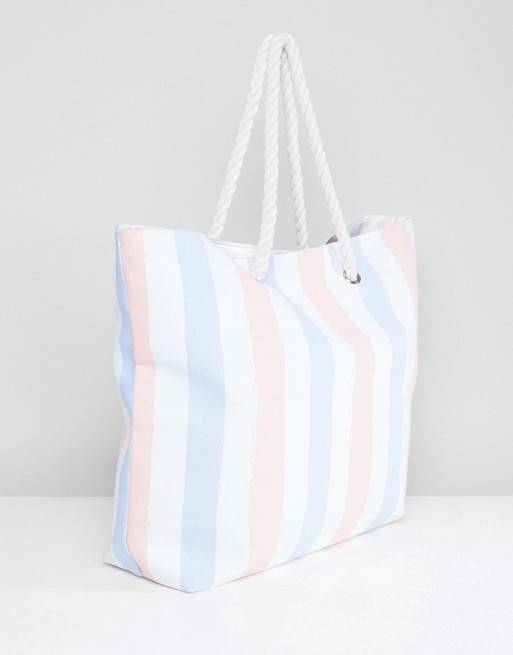 s Beach Bag CAMILLE by Alessa Heart Print Beach Bag Tote