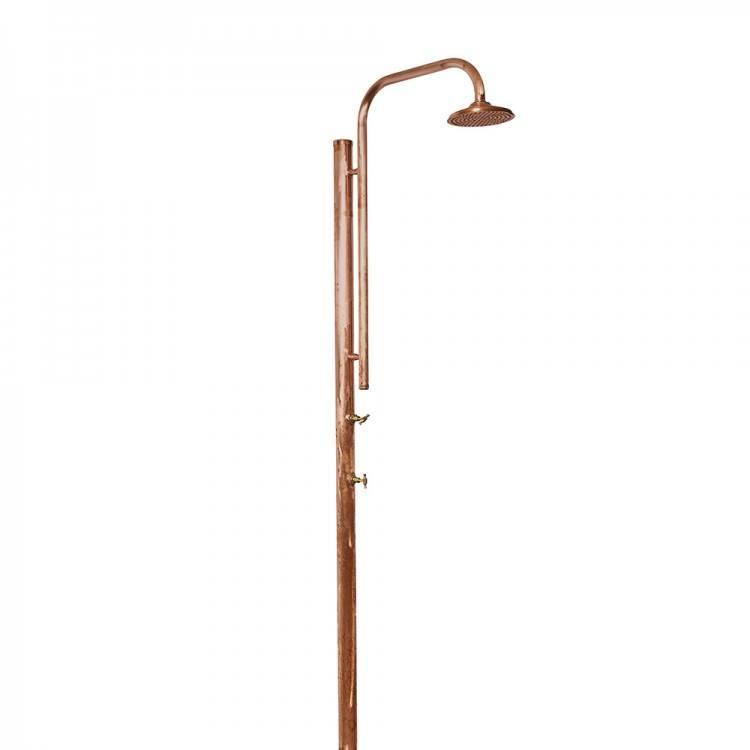 copper outdoor shower outdoor shower fixture a outdoor shower fixtures with  foot wash outdoor shower outdoor