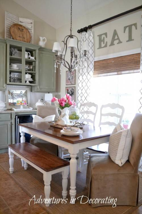 farmhouse table designs dining room ideas kitchen lovely best runners end decor desi