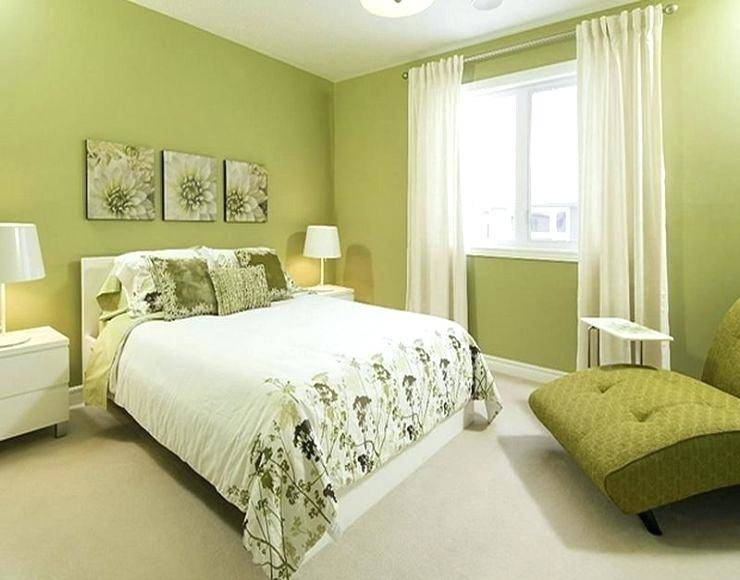 Painted green ceiling is perfect for the gorgeous tropical bedroom  [Design: London Bay Homes
