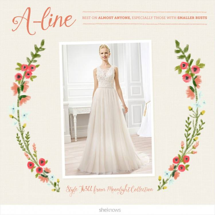 Wedding Dresses with Illusion Necklines: 27 of Our Favourite Styles
