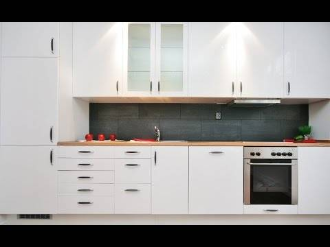 kitchen:Float Wooden Kitchen Rack White Cabinet Island Kitchen Design Modern Tiles Kitchen Shelves Cabinet Pendant Lamp Cooktop Oven Tiles Backplash Dish