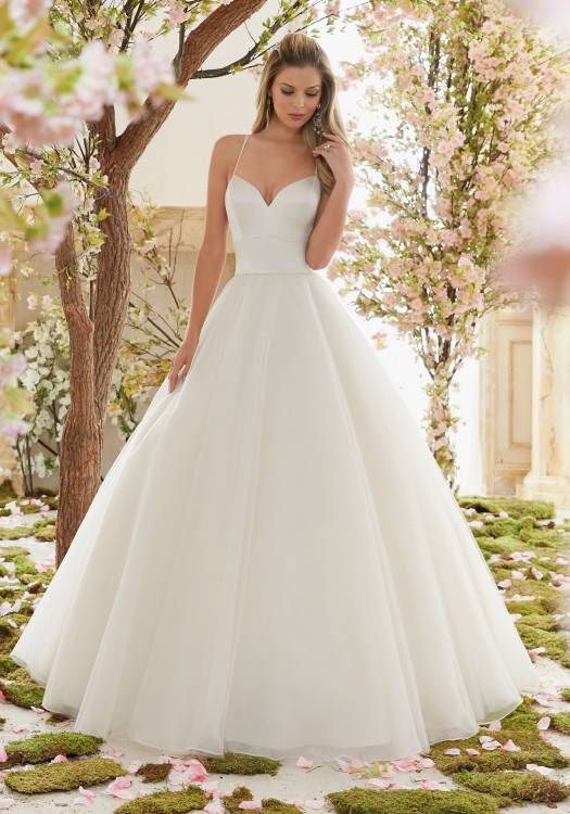 Simple Elegant Satin Wedding Dress for Older Brides Over 40, 50, 60, 70