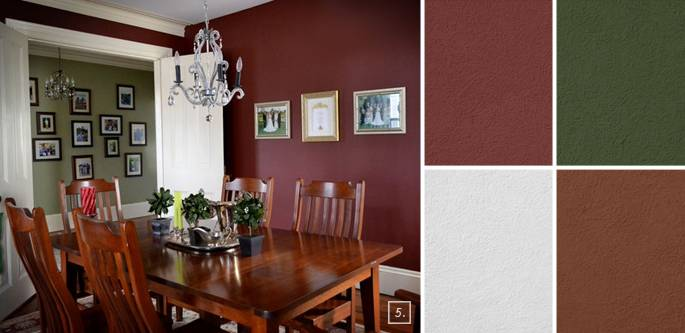 Small Most Popular Dining Room Paint Colors Benjamin Moore Rated