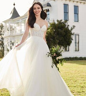 Most special order gowns will range from