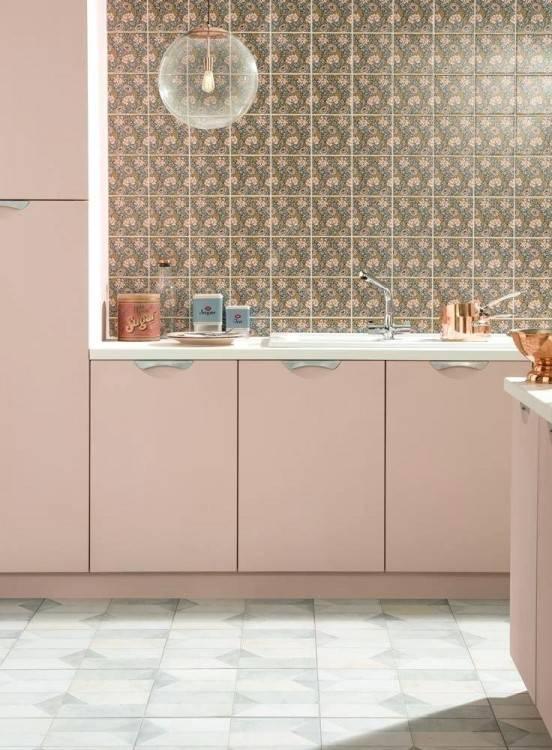 gold kitchen decor rose