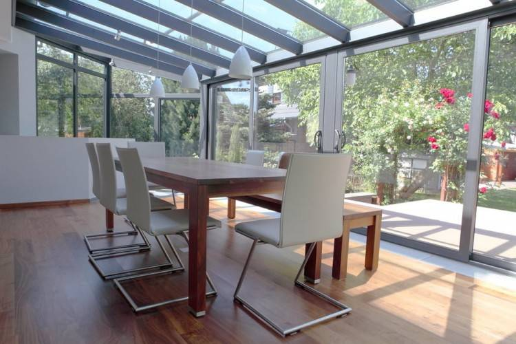 Orangery with roof lantern | Conservatory and glass extension ideas |  Conservatory | PHOTO GALLERY | Homes Gardens | Housetohome