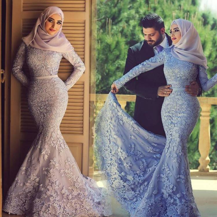 Now every bride has plenty of options to select the fabric, colors, and  designs of their bridal hijab