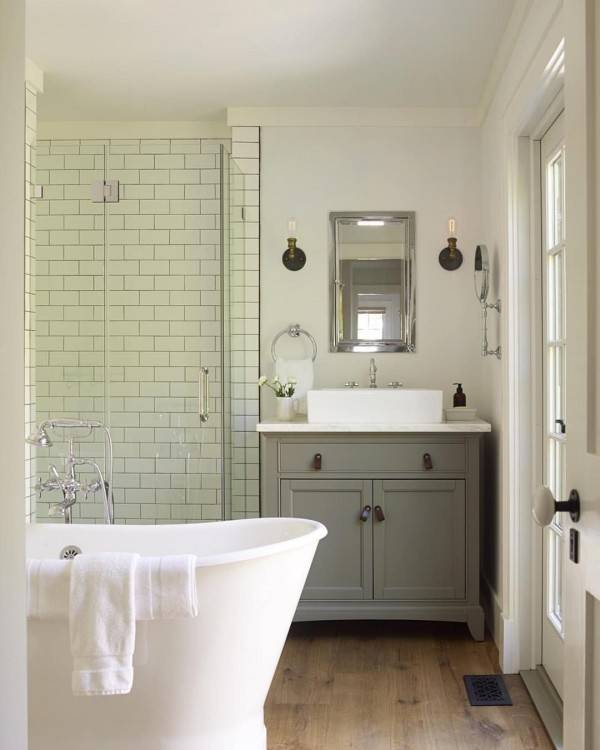 Ideas for a bathroom with no windows