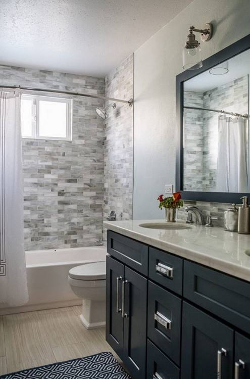 master bath with shower only