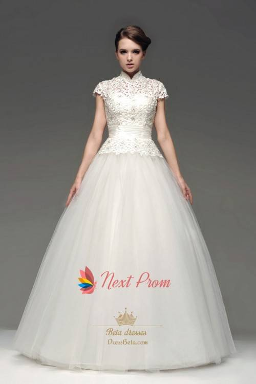 Discount Far Western Victorian Style Bohemian Wedding Dresses Long Sleeve High Neck Chiffon Bridal Gowns Amazing Beauty Vestidos De Noiva ZW119 Wedding