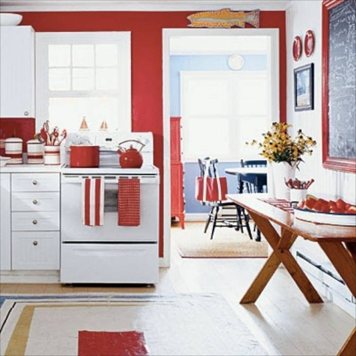 Kitchen Design Red And White Interiordecodir with Red And Black Kitchen