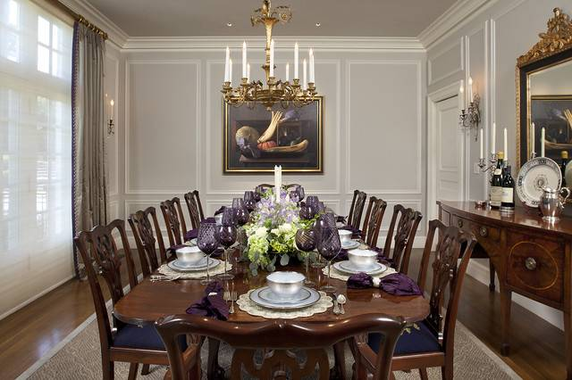 charming traditional dining room