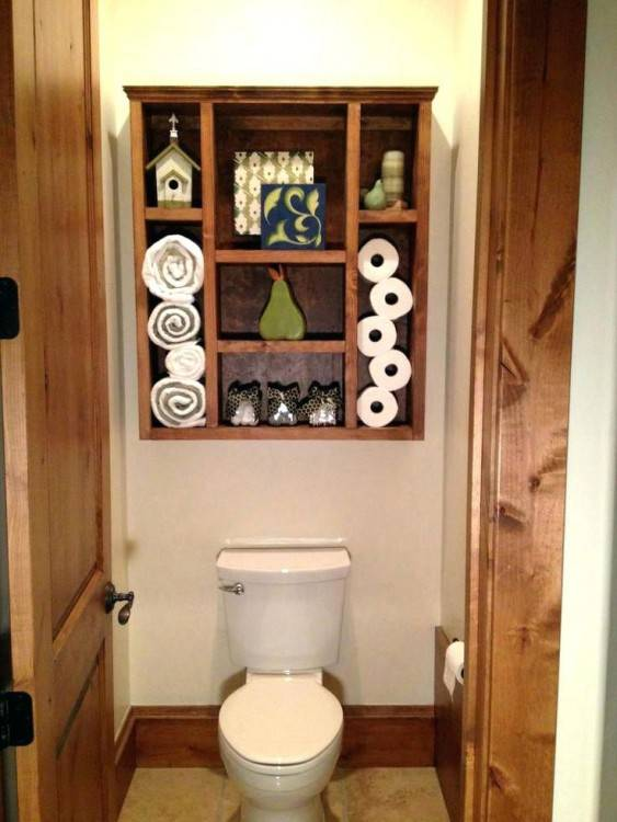 pallet wall bathroom ideas pallets cabinet wooden wa