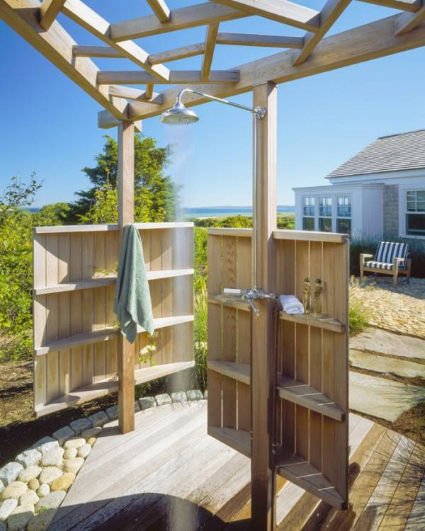 Enjoy the ambiance of the Cape while sitting on one of five covered deck  for views of the surrounding areas