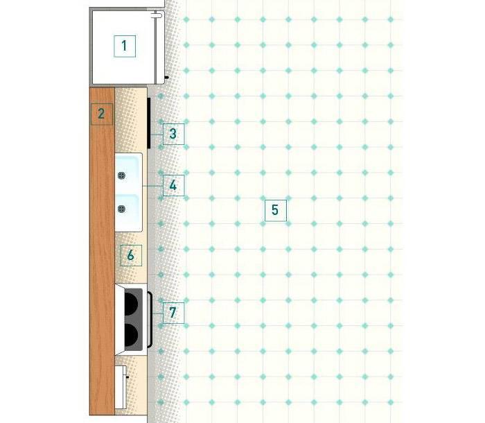 [Kitchen Wall] Tiny Kitchen Design Ideas One Wall