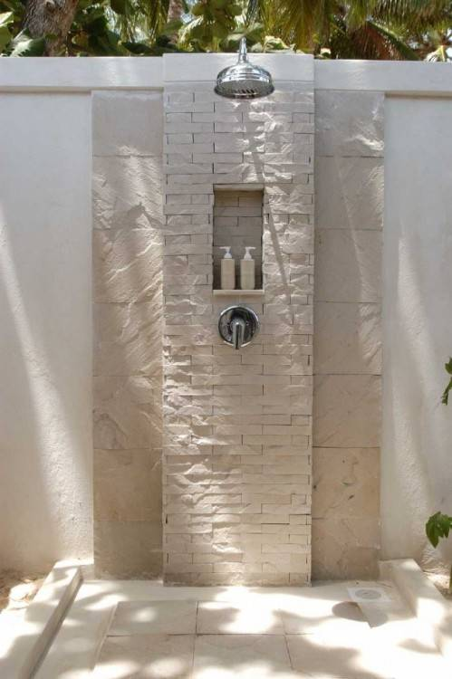 Home And Garden Outdoor Shower Design Bathroom