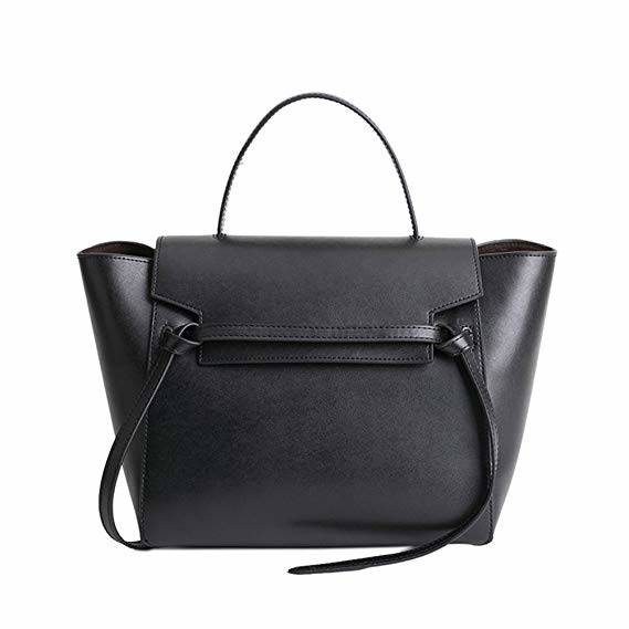 Babila Leather Ladies Slim Laptop Business Bag
