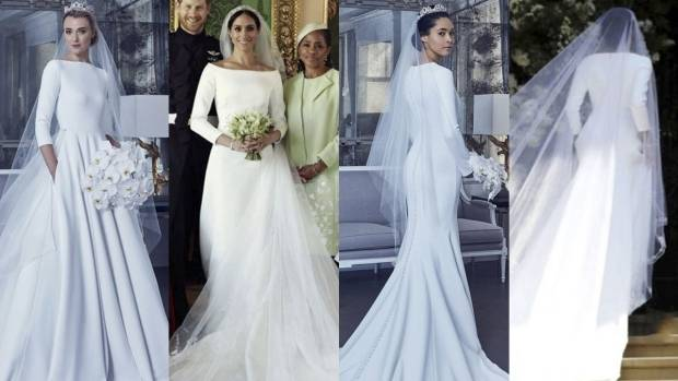 Her dress was thought to inspire Nicky Hilton's  gorgeous