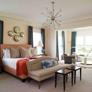 peach bedroom ideas