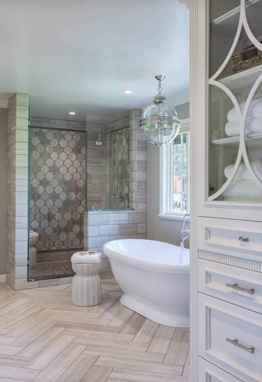 glass tile shower ideas