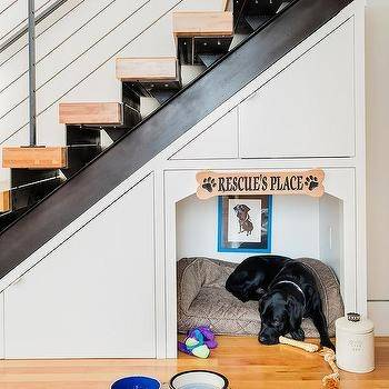 Wondering how to creatively utilize the space under stairs? You can make there a play house, bathroom, garden or even a home office